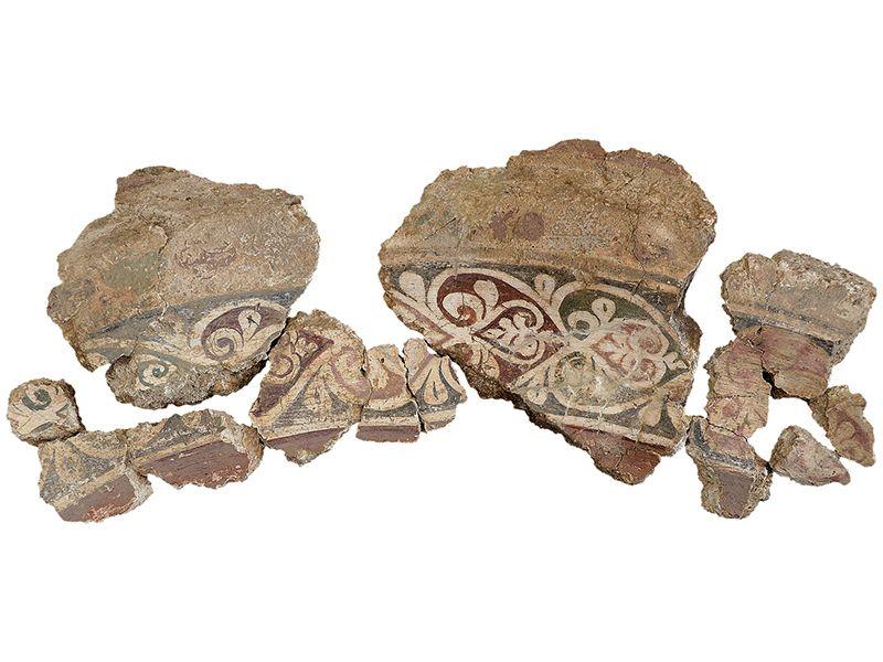 Средњовековне фреске са Рудника