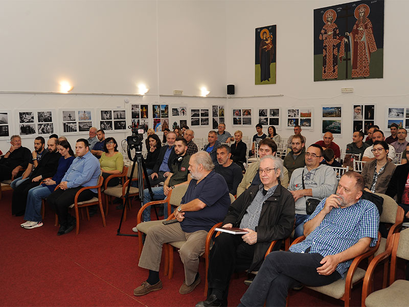 Представљање монографије Крст у дубу у Београду