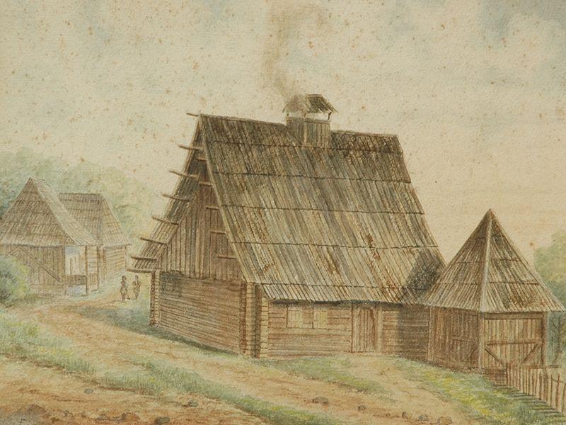 Владислав Тителбах, Кућа кнеза Милоша у Шаранима
