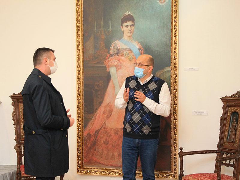 Председник општине у посети музеју